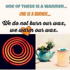 Scentsy warmers need only a very low wattage to melt their wax. Will not burn, let off soot or smoke. Safe for kids and pets. ORDER ONLINE ~ SHIPS DIRECT https://spollreisz.scentsy.us
