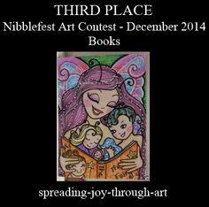 Nibblefest Art Contest: Winners for December 2014 - Books!