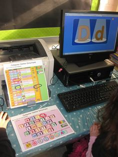 Great idea to give the kids some direction during computer time!!  LOVE THIS!