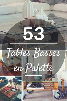 Table Basse Palette : TOP 53 Idées des Plus Originales !  http://www.homelisty.com/table-basse-palette/