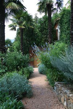 Entry garden in Morcote, Switzerland