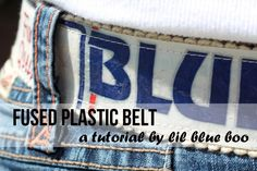 fused plastic belt