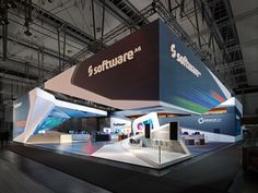 Trade fair stand Software AG - CeBIT 2014 in Hanover