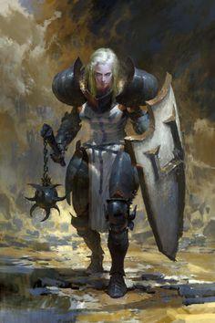 "knightandknights: "" Diablo III by RUAN JIA """