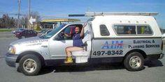 AIM Plumbing Truck
