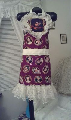Frankly Scarlett Apron  made by Fried Green Aprons