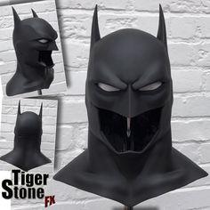 Batman animated movie Justice League War inspired cowl / mask - Justice League Dark, Batman Bad Blood etc - Larger cowl Batman Costumes, Batman Cosplay, Cosplay Armor, Cosplay Costumes, Cosplay Ideas, Nightwing Cosplay, Costume Ideas, Batman Armor, Batman Suit