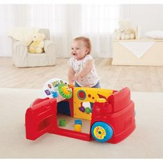 Fisher-Price Laugh & Learn Crawl Around Car - Pink Chimp £66.99