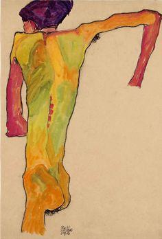 Egon Schiele, 1910
