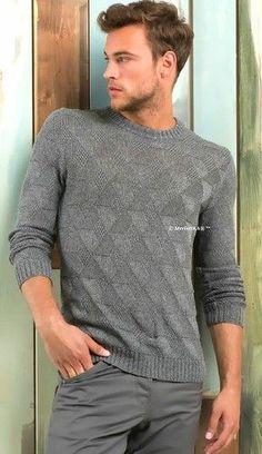 Вязание спицами - шикарный летний пуловер для мужчин. Обсуждение на LiveInternet - Российский Сервис Онлайн-Дневников