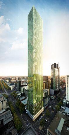 Elenberg Fraser Reveals Designs for Melbourne's Tallest Residential Tower