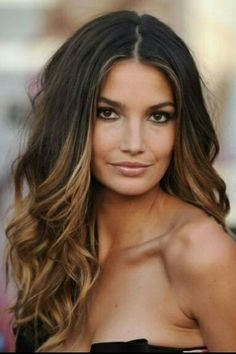 Ombre style for us ladies with dark hair ;)....going to do this to my hair!!