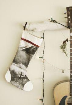 DIY Photo Print Stockings