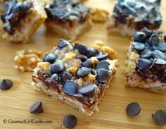 Gourmet Girl Cooks: Magical Cookie Bars - The REAL Deal