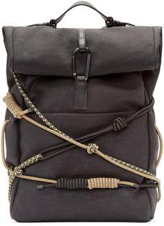 3.1 Phillip Lim • Black Hiking Backpack
