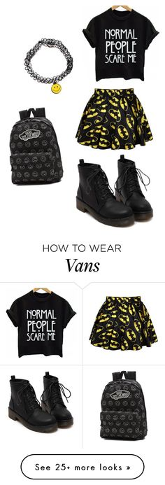 """""""Tamikas outfit day 1 ;)"""" by miadallasxo on Polyvore featuring Retrò and Vans"""