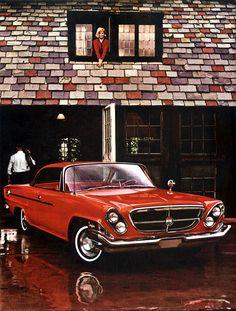 1962 Chrysler 300.