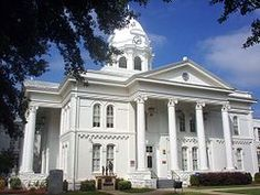 This is the Colbert County courthouse, in downtown Tuscumbia.