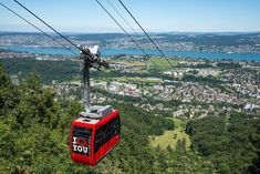 Adliswil-Felsenegg cable car, south of Zürich