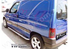 Citroen Berlingo Krom Yan Koruma, 1996-2001 Model, Paslanmaz Çelik