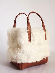 Kite Eden rabbit fur handbag - the one that never was