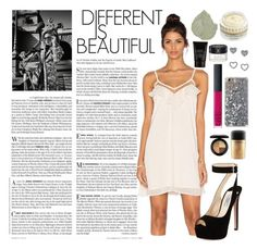 """""""Be yourself, always. 💗"""" by adellx ❤ liked on Polyvore featuring Vanity Fair, NARS Cosmetics, MAC Cosmetics, Lipsy, Burton, Chantecaille, Heartloom, Prada and Gucci"""