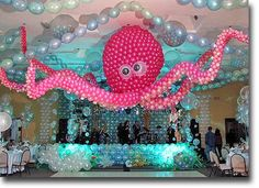 Under the Sea Balloon Decorations