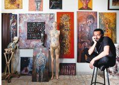 Inside the artist's studio: Badr Mahasneh