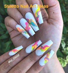 54 Trendy and Classy Coffin Nails Designs Summer Nails Ideas - Coffin & Styles . - 54 Trendy and Classy Coffin Nails Designs Summer Nails Ideas – Coffin & Stiletto Nails Design – - Acrylic Nails Natural, Best Acrylic Nails, Classy Acrylic Nails, Swag Nails, My Nails, Coffin Nails Designs Summer, Coffin Nail Designs, Acrylic Nail Designs For Summer, Bright Summer Acrylic Nails