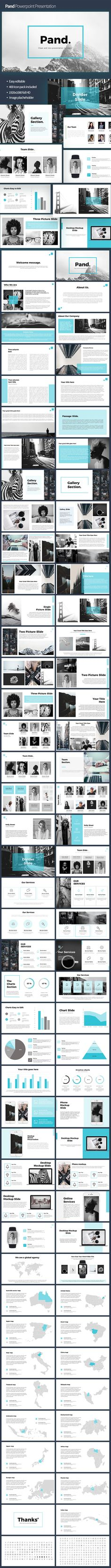Pand Powerpoint Template - PowerPoint Templates Presentation Templates