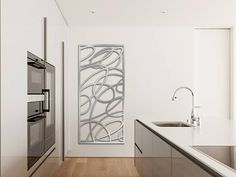 Laser Cut Metal Decorative Wall Art Panel Sculpture for Home, Office, Indoor or Outdoor Use (Swirls) Corte Laser Metal, Laser Cut Metal, Laser Cutting, Metal Walls, Metal Wall Art, Contemporary Design, Modern Design, Laser Cut Aluminum, Laser Cut Panels