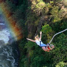 Absolute Zambia Safari is registered Tourism and Travel Agency. We ensure best travel experience with perfect accommodation & pleasure to see real beauty of Africa. Bungee Jumping, Jumping Gif, Adventure Bucket List, Adventure Is Out There, Adventure Awaits, Adventure Travel, Places To Travel, Places To Go, Ft Tumblr