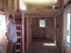 """McMansion of Tiny Houses"" Built by Woodshop Class - photos : tinyhouseblog - March 16, 2015"