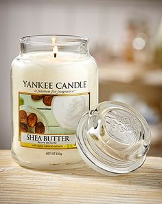 Yankee Shea Butter Large Jar Candle | Oxendales