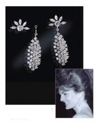 "Jacqueline ""Jackie"" Kennedy Collection - Waterfall Earrings"