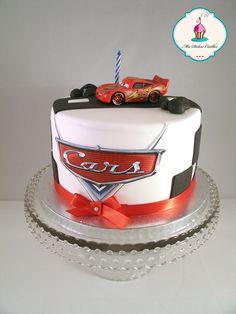 Tarta de cumpleaños cars