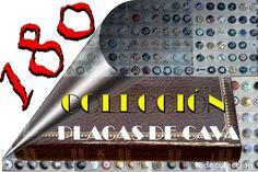 LOTE COLECCIÓN DE 180 PLACAS DE CAVA CON 30 MODELOS DISTINTOS EL ALBUM Y 5 HOJAS VER FOTOGRAFIAS