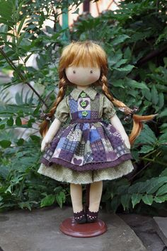 Hey, I found this really awesome Etsy listing at https://www.etsy.com/listing/246993510/textile-doll-decorative-doll-collector