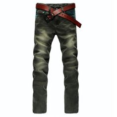 Straight Green DesignerJeans via JQ online store. Click on the image to see more!