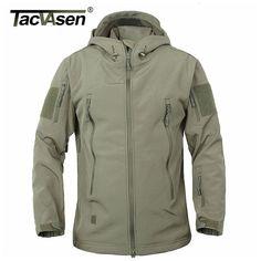 TACVASEN армия камуфляж пальто Военная Униформа тактическая куртка Для мужчин мягкие В виде ракушки Водонепроницаемый ветрозащитная куртка пальто плюс Размеры 4XL плащ Цена: US $43.72 - 44.97 / шт. Цена со скидкой: US $34.98 - 35.98 / шт.  -20%