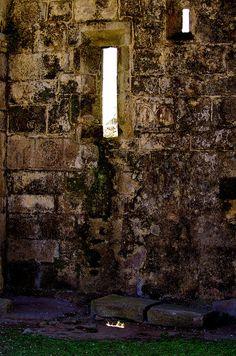 Cambados Galice Espagne 418 - les ruines de l'église Santa Mariña