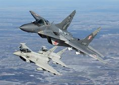 Fulcrums and EurofightersOver Lithuania