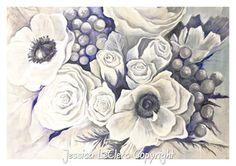 Purple Flowers www.jessicaleclerc.com.au