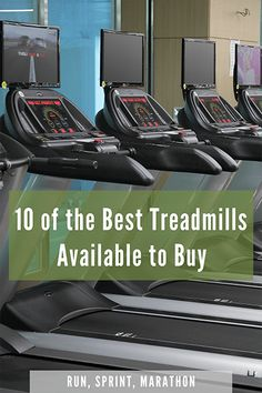 10 of the Best Treadmills Available to Buy - Run, Sprint, Marathon Best Treadmill For Running, Marathon, Treadmill Brands, Folding Treadmill, Good Treadmills, Bad Knees, Shin Splints, Small Space, Jogging