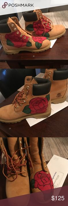 e6874008b9ea Timberland boots Brand new custom made 6y Shoes Boots Timberland Stiefel