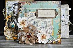 Marion Smith mini album  apieceofcraft.blogspot.com