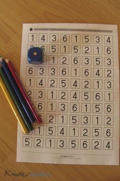 In diesem Artikel möchte ich dir 5 Ideen und Spiele vorschlagen, die du mit Würfel, Papier und Stiften umsetzen kannst. Und dabei lernt dein Kind noch Mathe