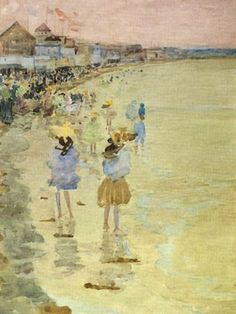 Daughter Of The Golden West: Impressionists On The Beach