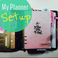 My planner \ agenda setup by starsinpalm at @studio_calico