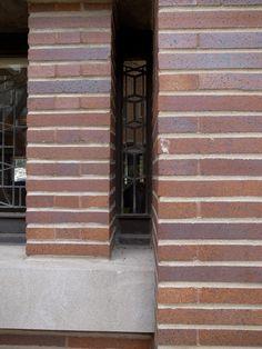 chicago, illinois, robie house, 1908/10, architect: frank lloyd wright